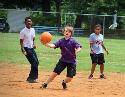 ES Kickball Tourney fun for all