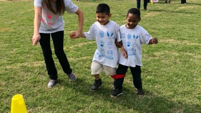 PreK students enjoy Field Day