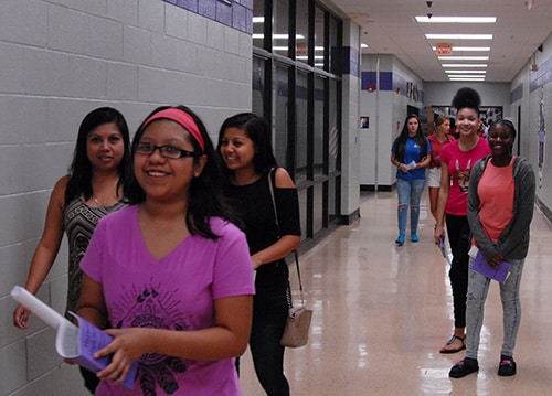 HHS holds Freshman Orientation