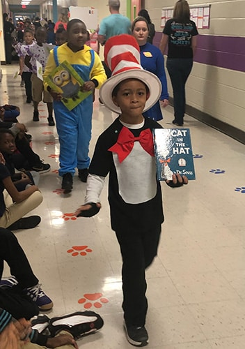 HES students present Character Parade