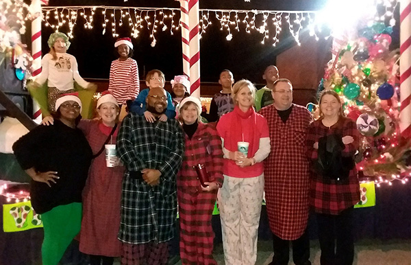 HCS in Christmas Parade