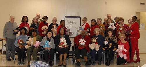 Retired Teachers enjoy Holiday luncheon