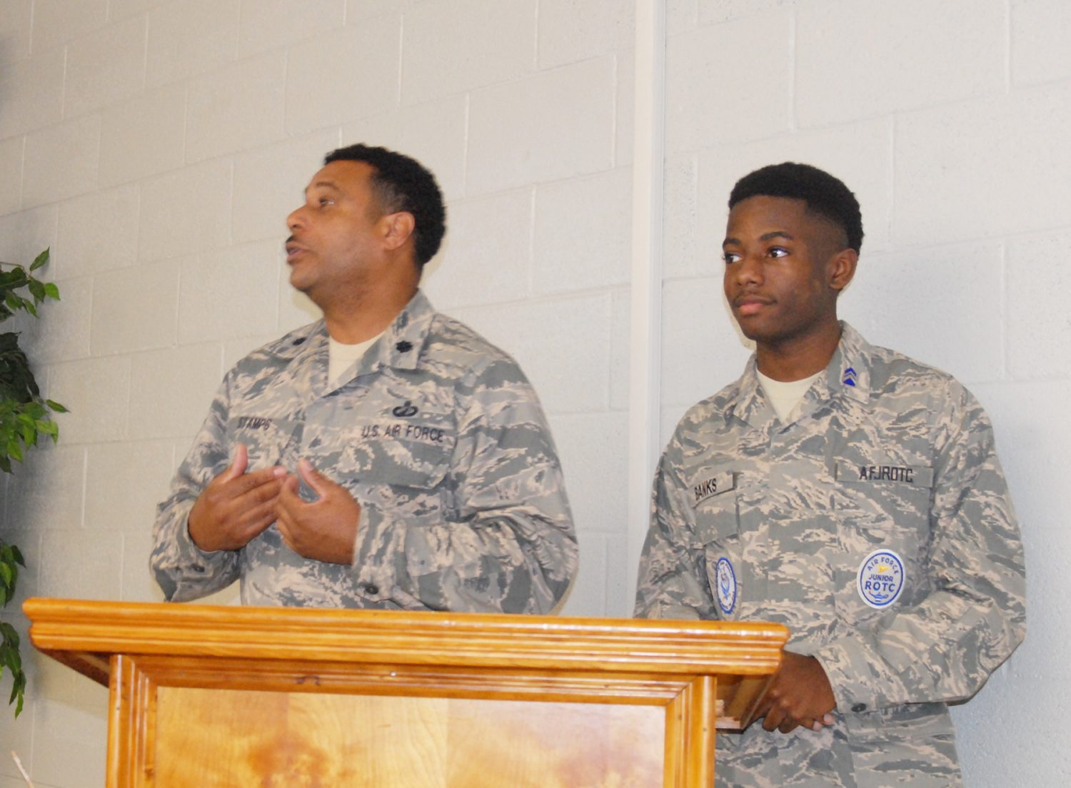 HHS JROTC addresses School Board