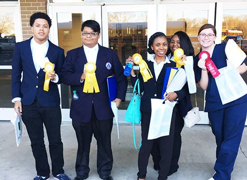 HOSA students excel in competition