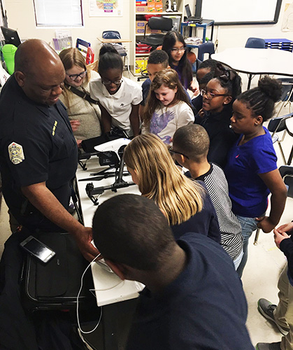 East Side students learn about drones