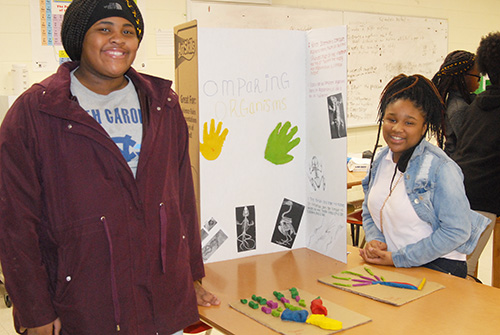 HMS holds Science Showcase