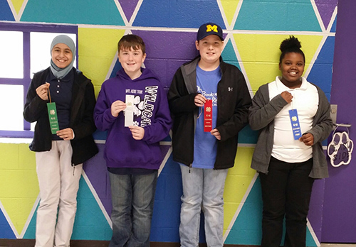 ES 4H public speaking winners