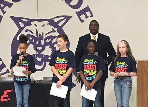 East Side 5th graders complete D.A.R.E program