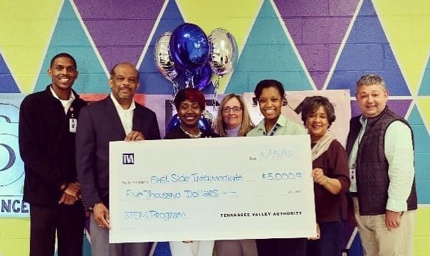 ES receives TVA STEM Grant