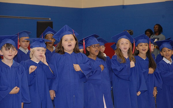 Anderson ceremony honors 203 graduates