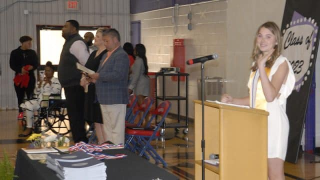 HMS promotes 208 eighth graders