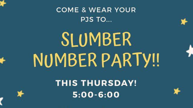 Slumber Number Party