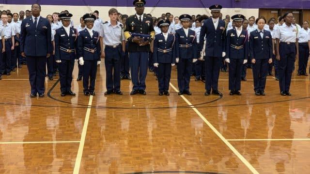 TN-944 AFJROTC 9-11 Memorial Service