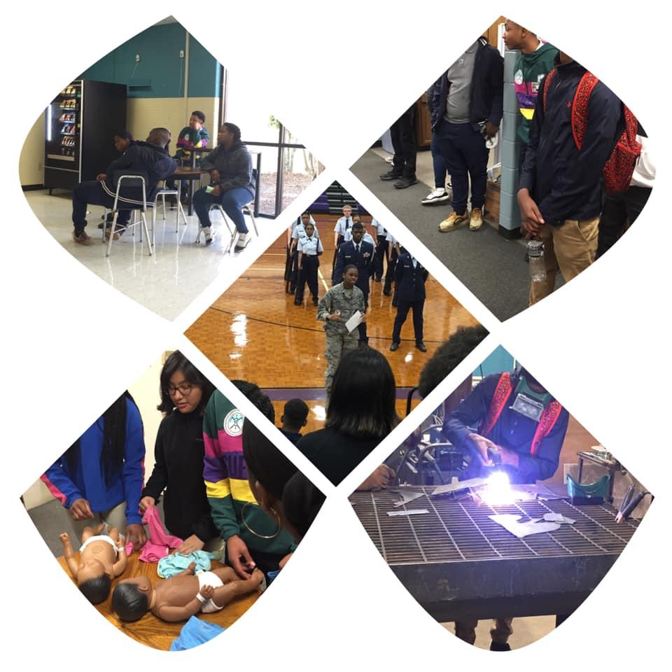Students Visit CTE Classes