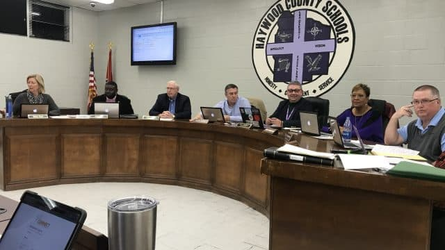 December School Board Meeting