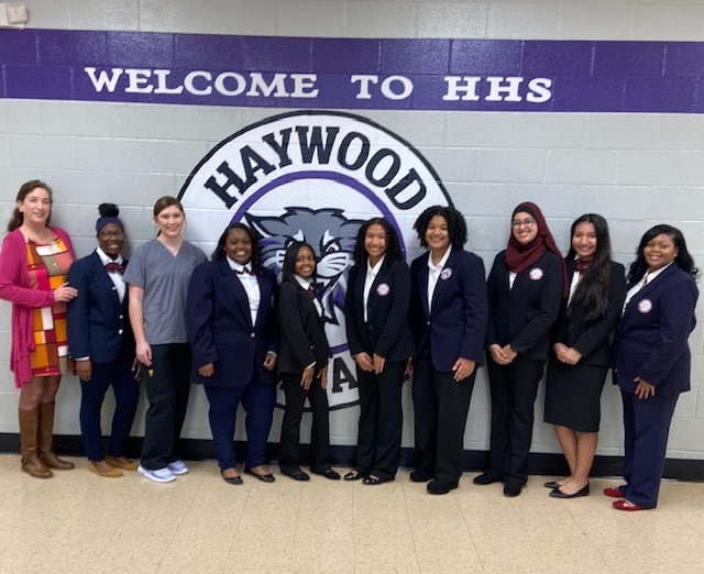 HOSA Club Competes Regionally