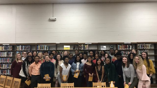 Beta Club inducts 37 new members