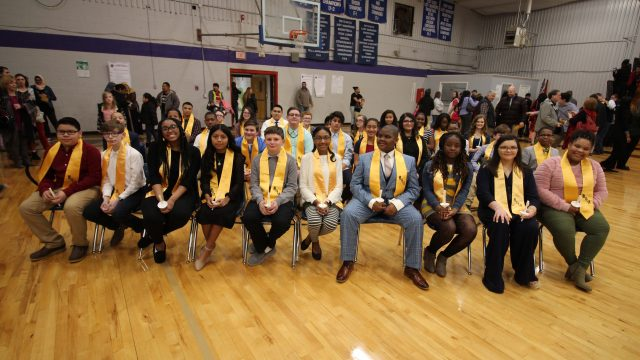 HMS Junior Beta Club Induction