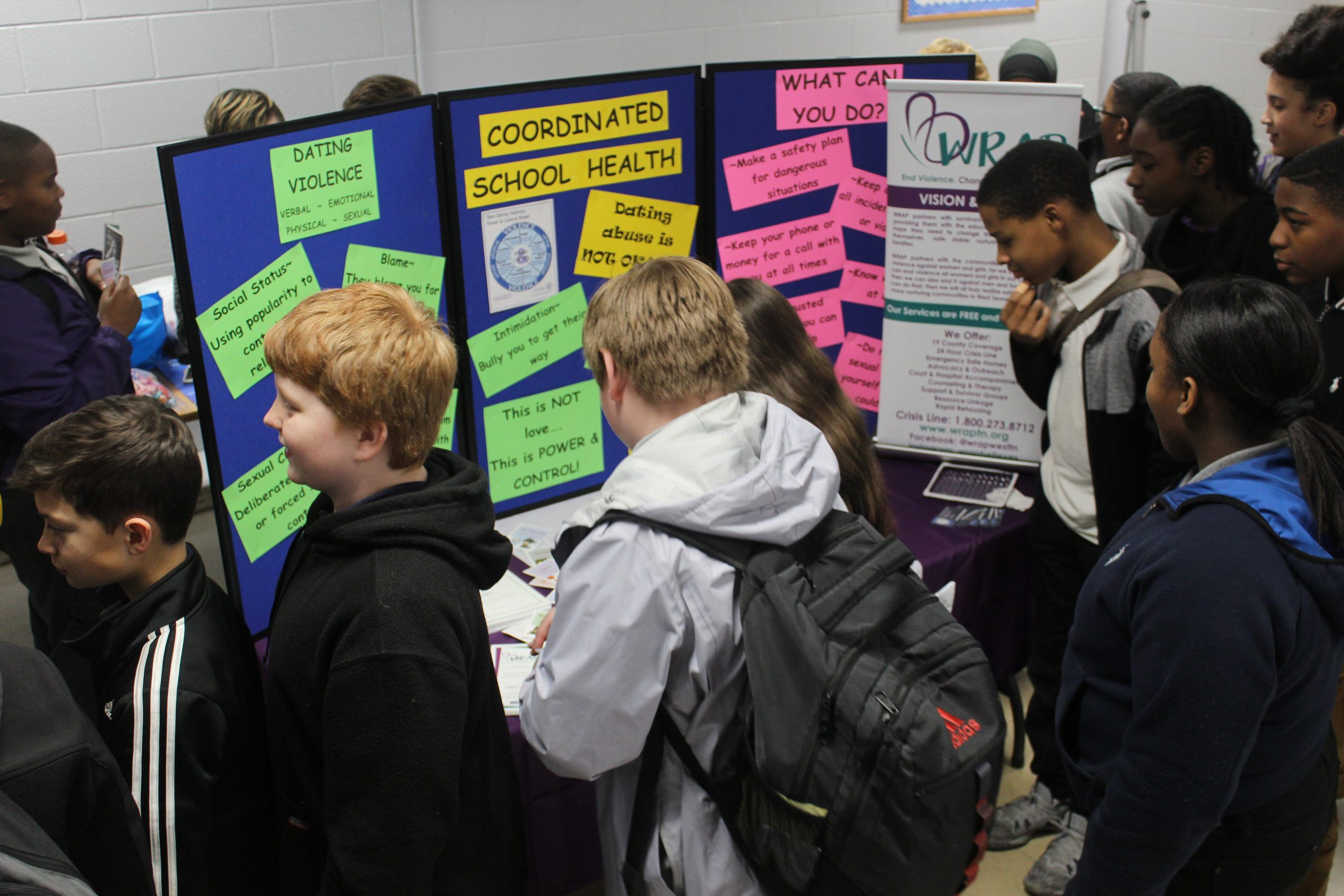 Schools partner with WRAP to spread awareness of teen dating violence
