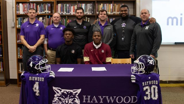 Signing Day ceremony celebrates two local athletes