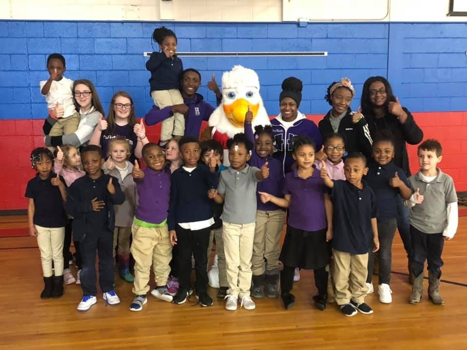Elementary Visit from Eddie the Eagle