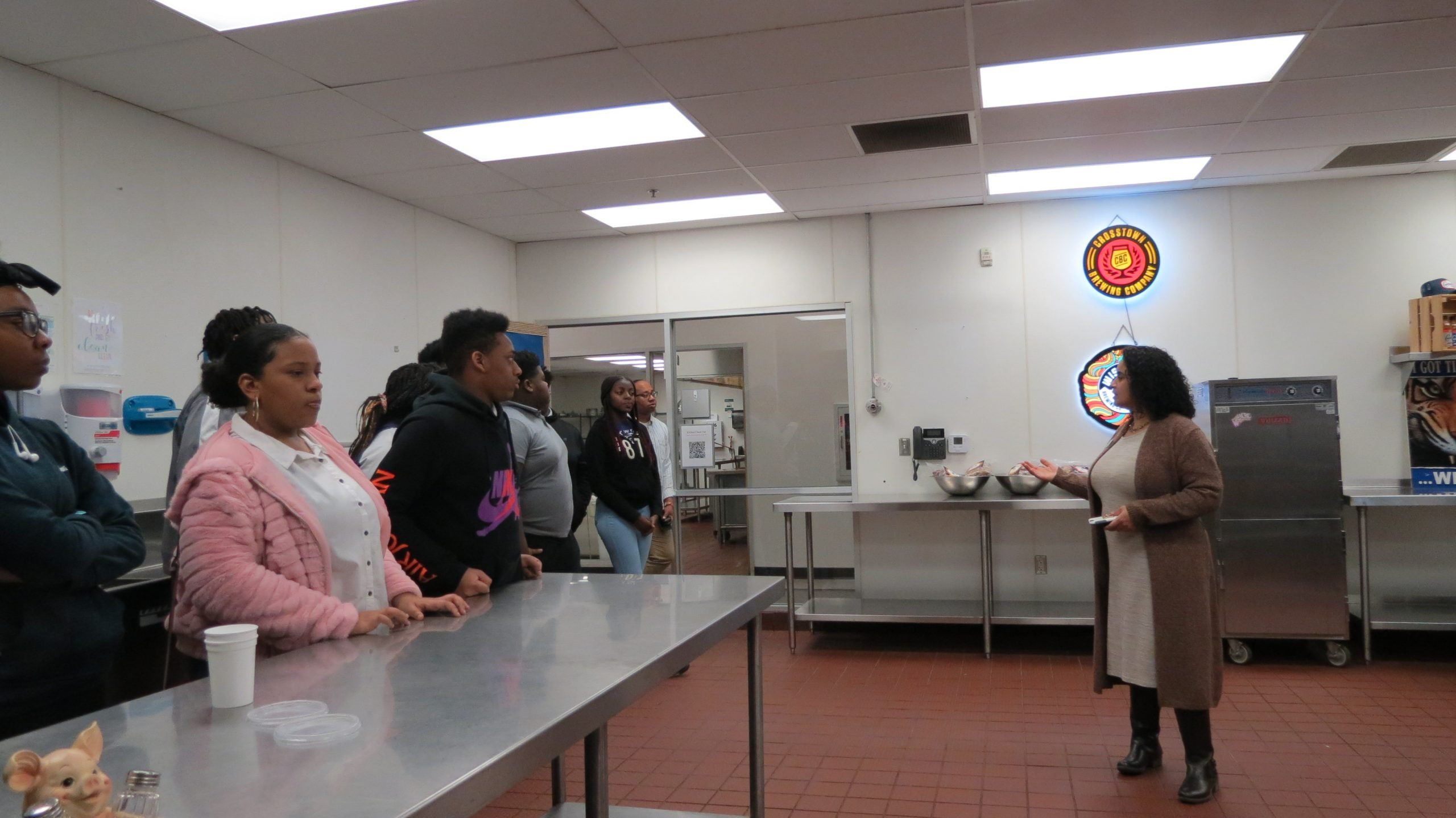 GEAR UP tour of Kennamer-Wilson Culinary Institute