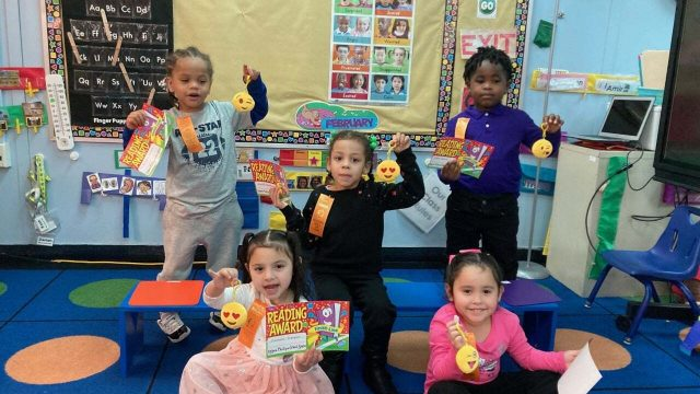 Little readers reach big goal at Anderson