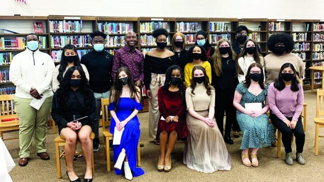 HHS Beta Club inducts 28 new members