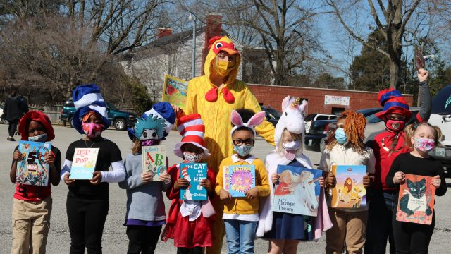 Elementary schools celebrate Dr. Seuss