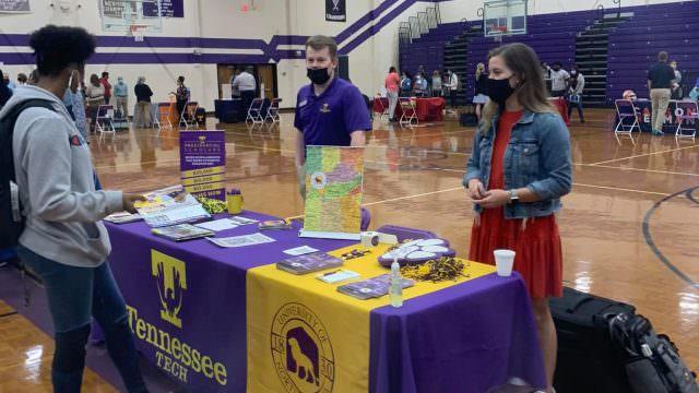 Haywood High School hosts college fair