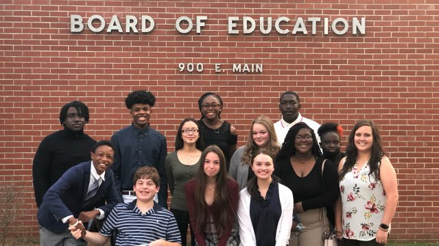 Ford gives to Class of 2022; new student council introduced