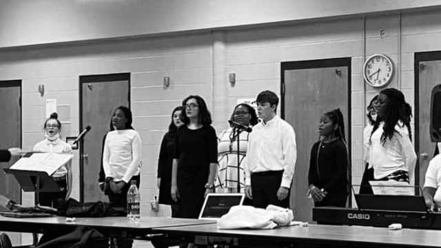 Haywood Middle School Choir Performs First Concert of the Year